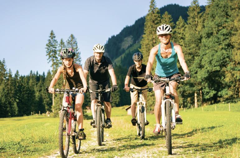 Elixhauser Wirt Radfahren